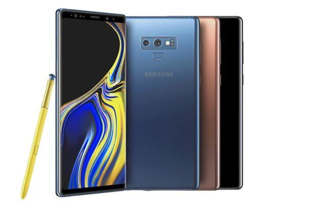 Samsung Galaxy Note 9 At&t Unlocked (A+/A) x 5 Pcs